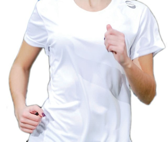 Remera Podio Entrenamiento Runing Gym Mujer Cool Dry