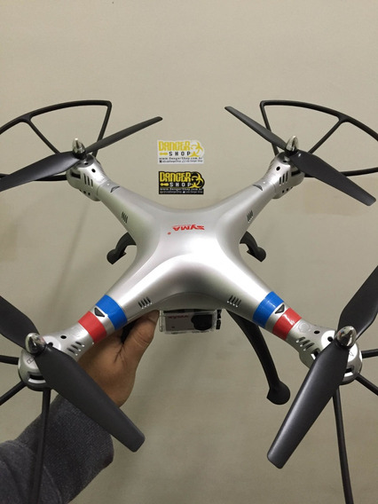 Promoção Drone Syma X8g Com Camera Estilo Gopro De 8mp Hd
