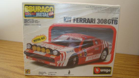 Burago 5148 Ferrari 308 Gtb Rally Raro Kit 1/24 Ertl Autoart