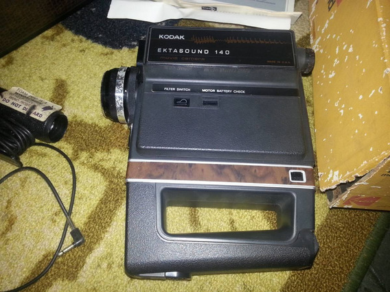 Reliquia - Filmadora Kodak Sonora Super 8 Ektasound 140