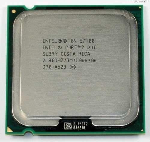 Processador Desktop Intel Core 2 Duo E7400 2.80ghz Slb9y