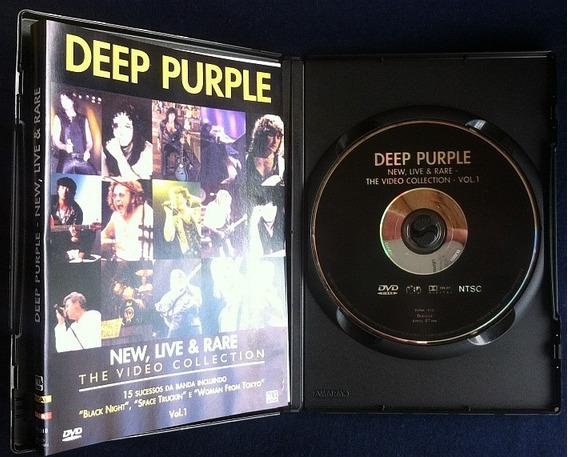 Dvd Deep Purple New Live & Rare Vol 2 Frete Grátis Original