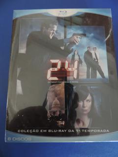 Blu Ray 24 Horas 8ª Temporada Box 6 Discos Lacrado Original