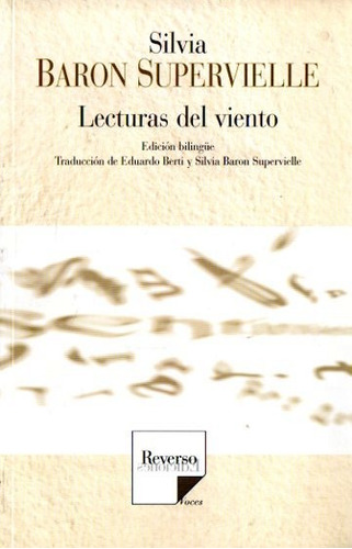 Silvia Baron Supervielle - Lecturas Del Viento - Bilingue