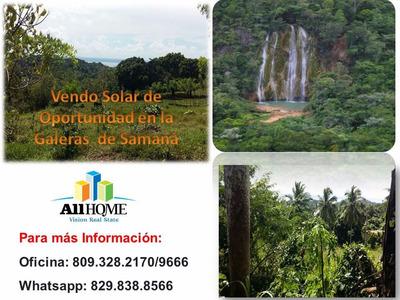 Vendo De Oportunidad Solar A 20 Dolar El Metro En La Samana