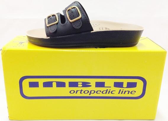 Sandália Ortopédica Starflex Inblu Nb02 2 Fivelas