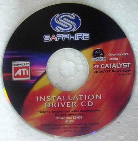Cd Instalação Do Driver Da Placa Mãe Catalyst Ati Radeon
