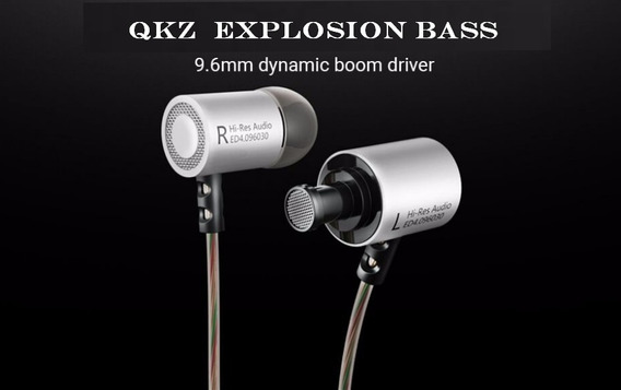 Fone In Ear Hi Fi Bass Metal Explosive Bass Clear Sound