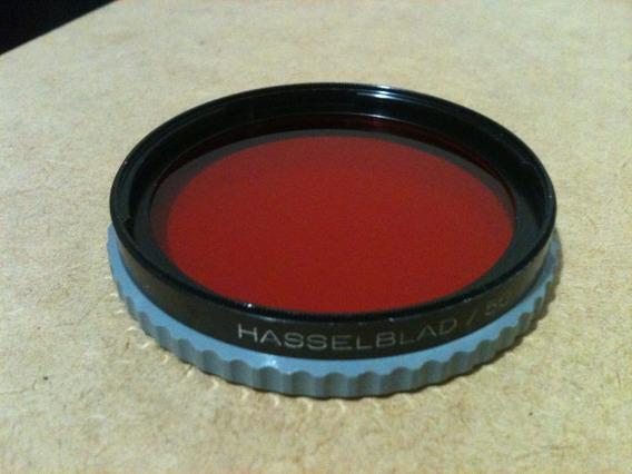 Filtro Vermelho Hasselblad B-50. Usado, Ótimo Estado. Raro.
