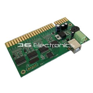 Interfaz Usb Jamma (2 Players) Pc Y Ps3 / 3g Electronics