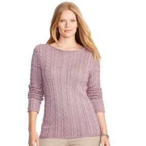 Ralph Lauren Sweater - 100% Algodón - Sueter Mujer