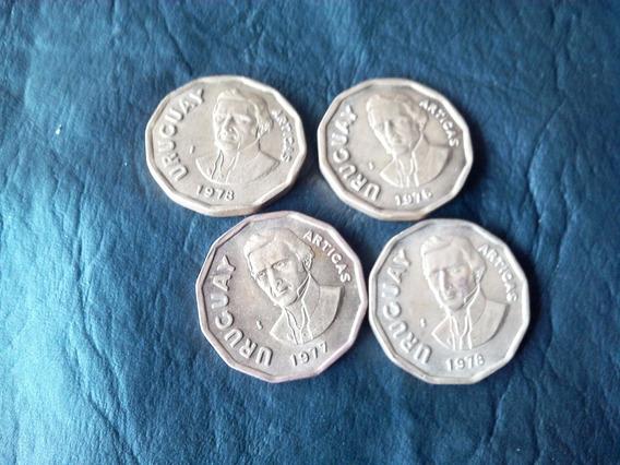 Moneda De 1 Peso Uruguayo Artigas.