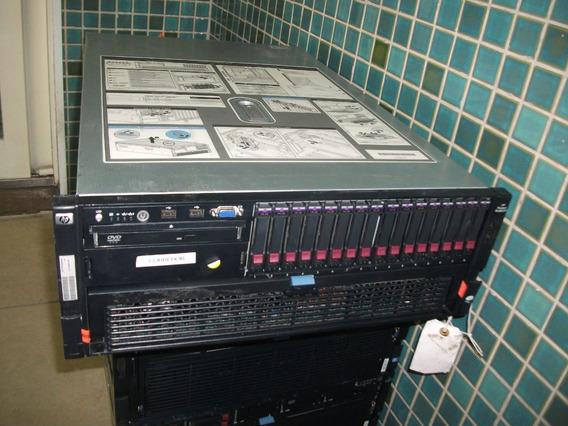 Servidor Hp Dl 580 G7 2 Processadores Oito Cores 64gb Ram D3