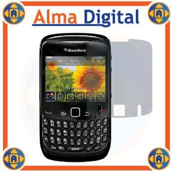 2 Lamina Protector Pantalla Antiespia Blackberry Gemini 8520