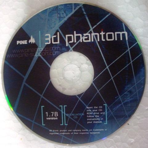 Cd Instalação Do Driver Da Placa De Vídeo Pine 3d Phantom