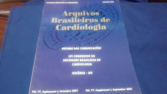 Arquivos Brasileiros De Cardiologia Volume 77 R$ 25,00