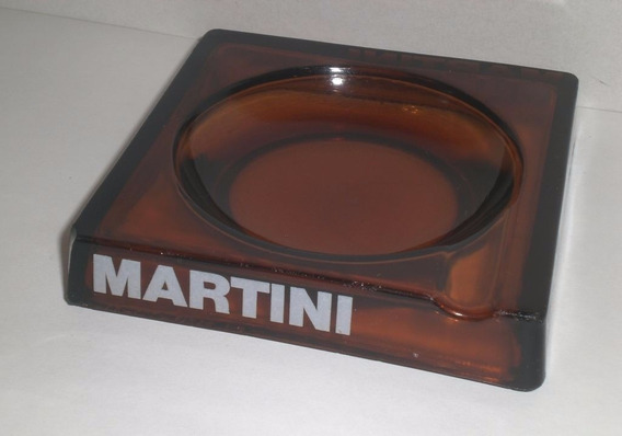 Antiguo Cenicero Martini Retro Vintage