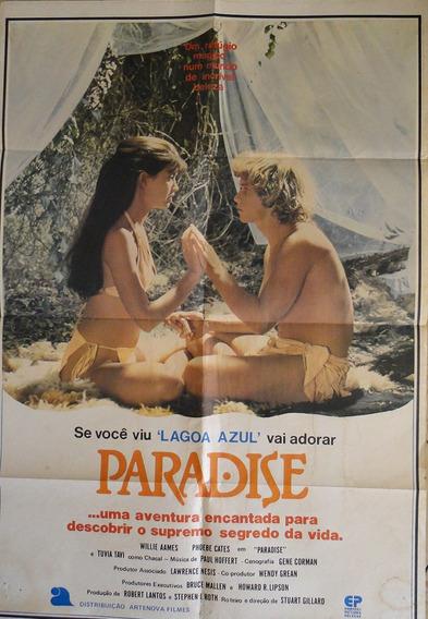 Cartaz Cinema Original Filme Paradise 1982