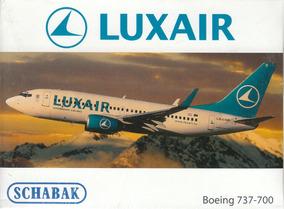 Boeing 737-700 Luxair 1:600 Schabak-schuco