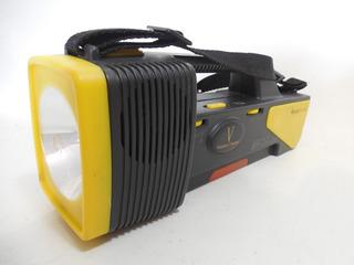 Lampara De Mano Baterias 3 Luces Multi Radio Portatil A907