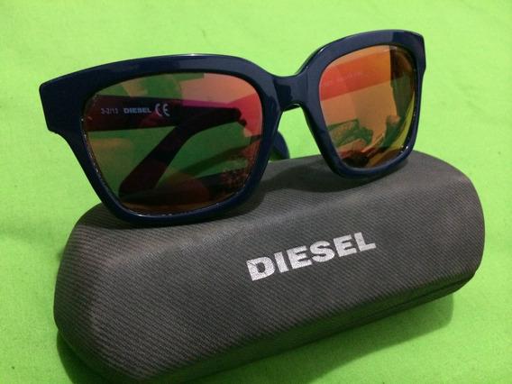 Gafas Tornasol Espejo Diesel Unisex Mujer Hombre