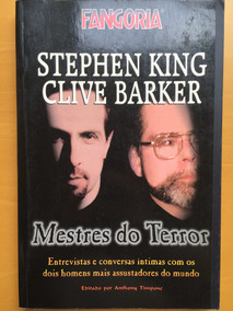 Livro Fangoria Mestres Do Terror Stephen King Clive Barker