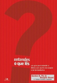 Entendes O Que Lês ? Livro Gordon D. Fee