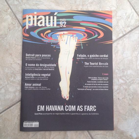 Revista Piauí Maio N92 2014 Em Havana Com As Farc C2