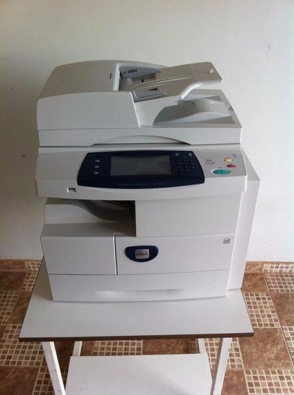 Copiadora Laser Mono Xerox 4260 Scanner, Rede E Duplex