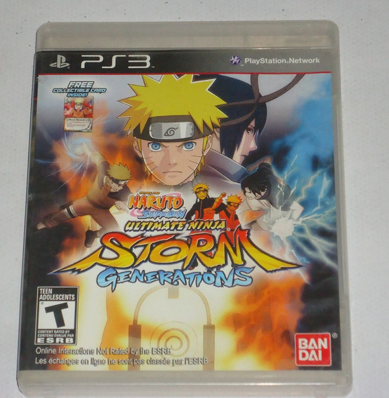 Naruto Ultimate Ninja Storm Generations Ps3 * Leia