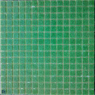 Venecitas Verde Oscuro 2x2 Cm Biseladas Para Piletas X M2 !