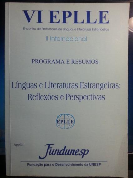 Livro: Fundunesp - Línguas E Literaturas Estrangeiras...