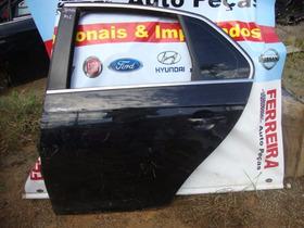 Porta Traseira Esquerda Jetta 07 A 10  So A Lata