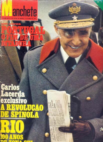 Manchete Nº 1151 - 1974 - Alagoas/ Rio/ Gal Costa/ Portugal