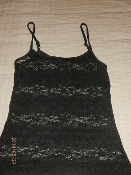 Musculosa Encaje Mujer Forever 21