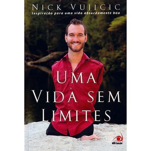 Livro Uma Vida Sem Limites Nick Vujicic Livro Usado