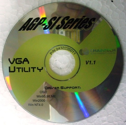 Cd Instalação Do Driver Da Placa De Vídeo Agp-si Series