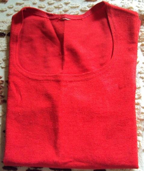 010 Rps- Roupa Blusa Camiseta Moda Atual- Vermelha