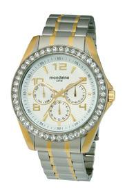 Relógio Mondaine Urbano Dourado 76196lpmgbs2