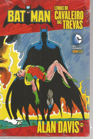 Batman Lendas Alan Davis 2 - Panini - Bonellihq Cx52 E19