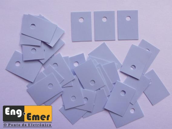 (carta Reg.) Isolante Silicone - To-220 - Lote 35 Pçs