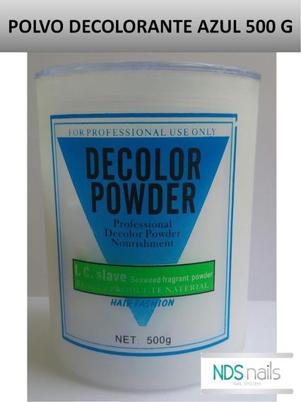 Polvo Decolorante De 400 Gr Azul Decolor Powder
