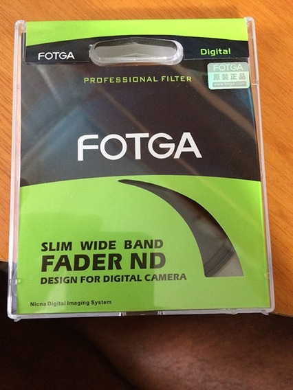 Filtro Nd 2 - 400 Variável 2-400 Fotga 77mm Sony Canon Niko