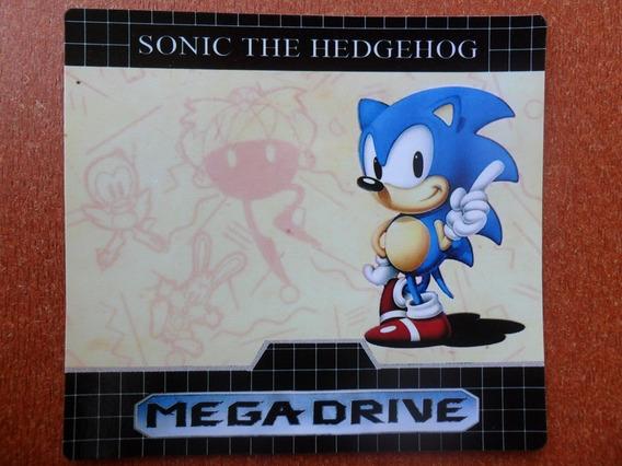 3 Labels - Etiquetas Para Mega Drive A Sua Escolha