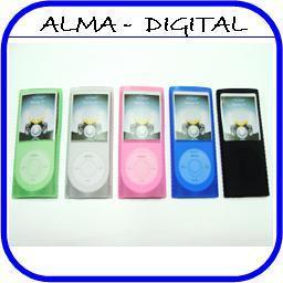 Forro Silicon iPod Nano 4g 4 G Estuche Funda Protector
