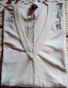 012 Rps- Roupa Blusa Camiseta Moda Atual- Bege