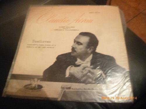 Vinilo Lp La Claudio Arrau  -- Beethoven (u1239
