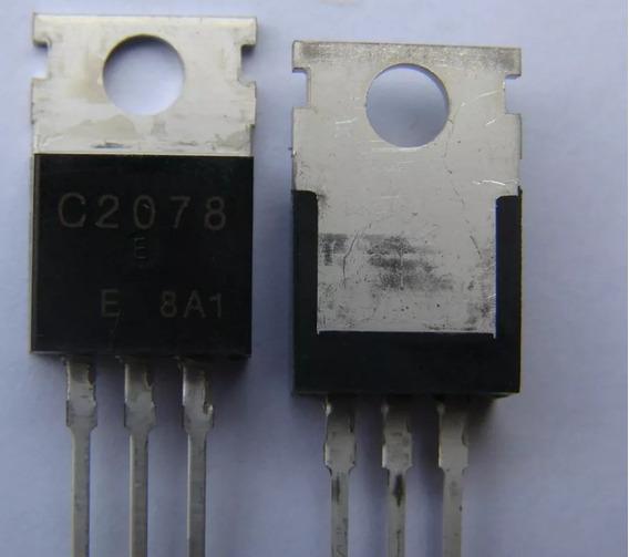 2 Transistores 2sc2078 Novo C2078