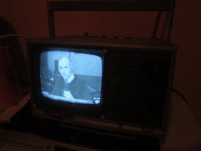 Tv Antiga Sony Fm Am Transistor Receiver Tv-515 P/b 110v