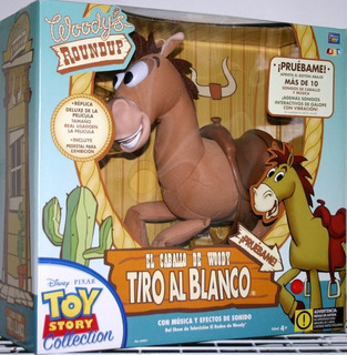 Caballo Tiro Al Blanco Original Toy Story 4 Interactivo